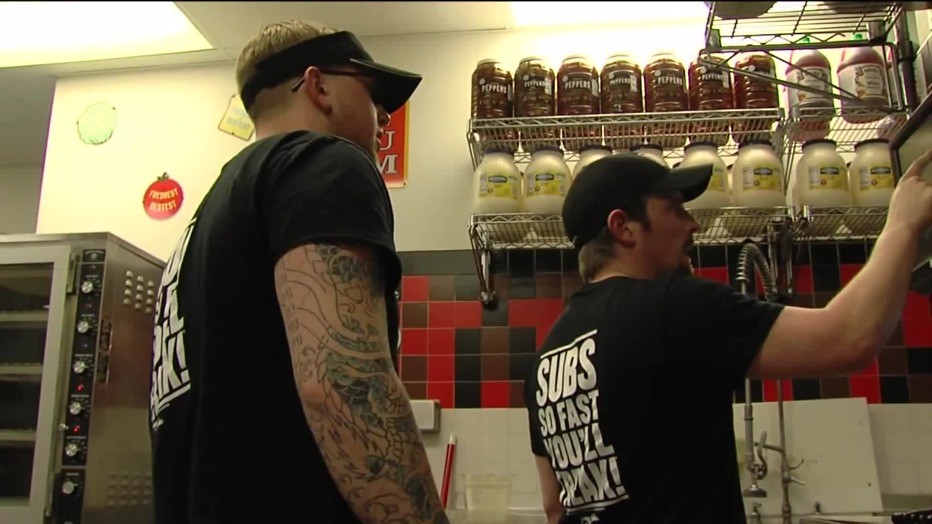 Jimmy John's Employees Turn The Tables On Would-Be Robber