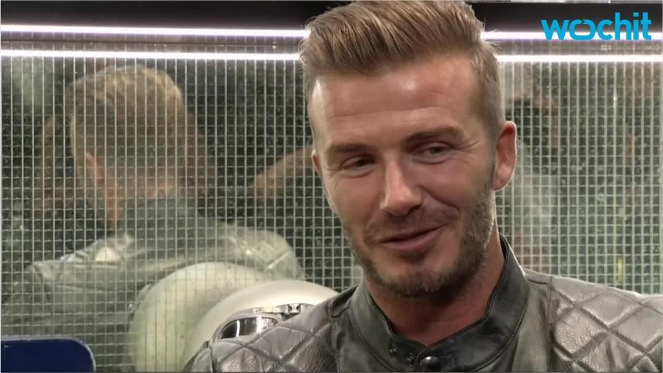 David Beckham's Reaction When Son Brooklyn Drives Him in Car