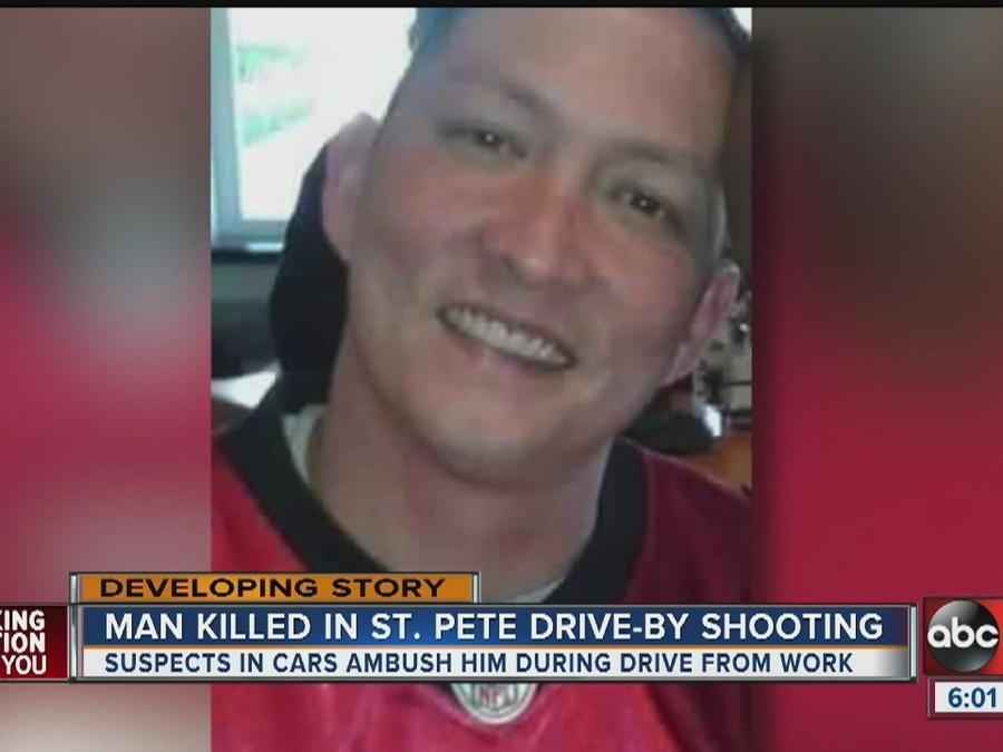 Motorist shot, killed in vehicle in St. Petersburg