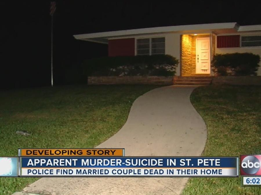 Police investigate couple's death in St. Petersburg