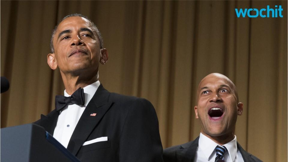 Obama Takes The Podium One Last Time