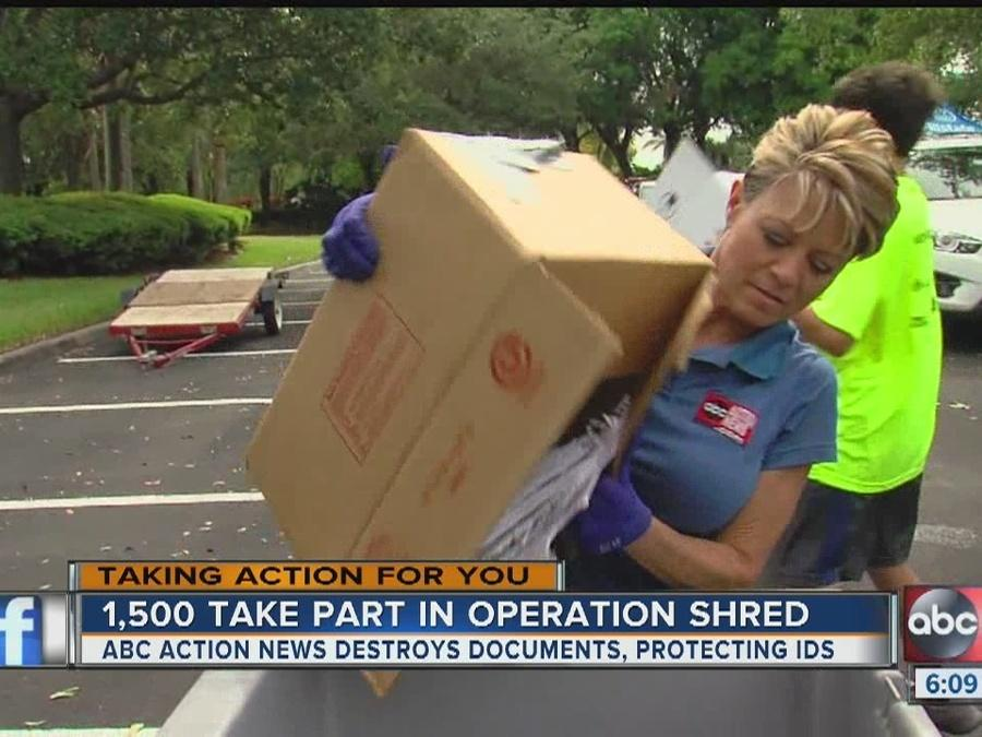 Operation Shredding offers protection against identity theft
