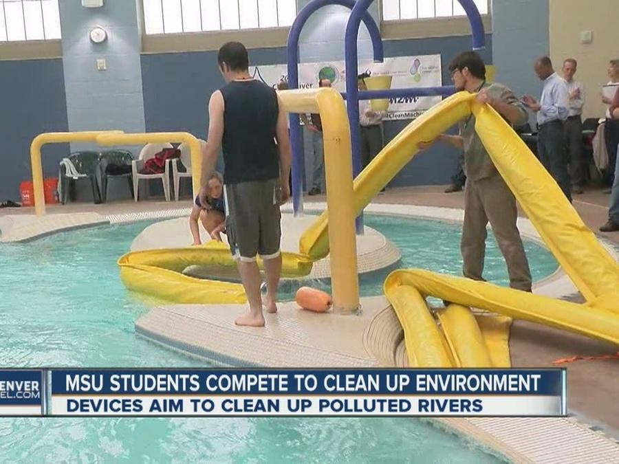 MSU students compete to clean up the environment