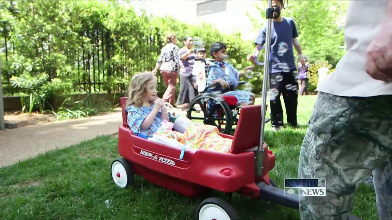 The Red Wagons With Slight Alterations Bringing Smiles to Many