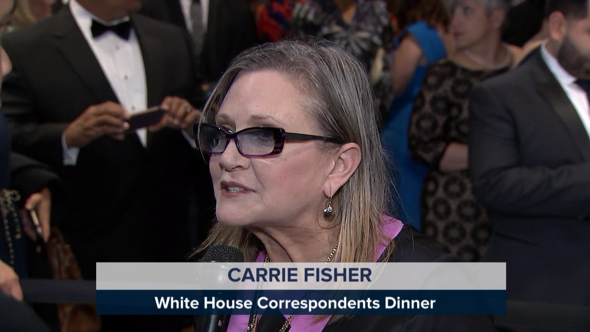 Celebs arrive to WH Correspondents' Dinner