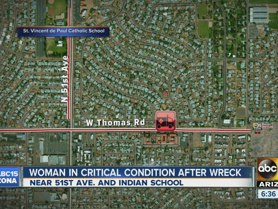 Woman undergoes emergency C-section after crash