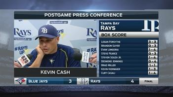 Kevin Cash: We'll take that any day from Archer