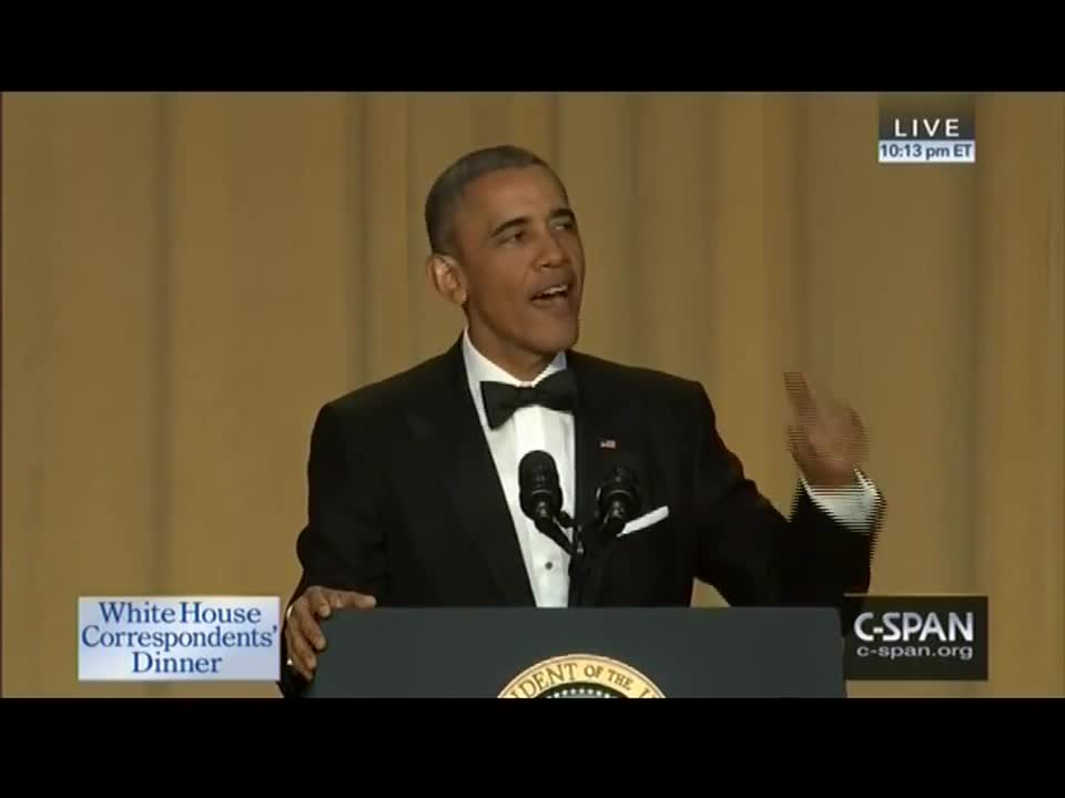 Obama Makes A Marijuana Joke At The WHCD