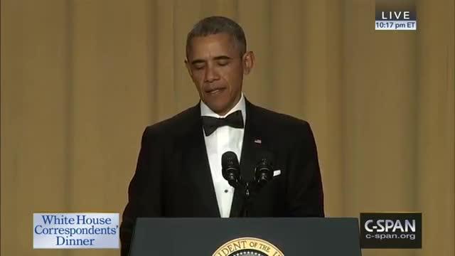 Obama's Full 2016 WHCD Speech