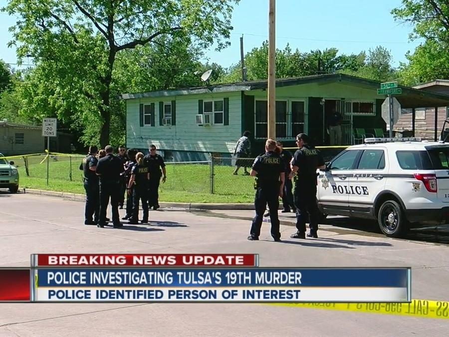 Police investigate Tulsa's 19th murder