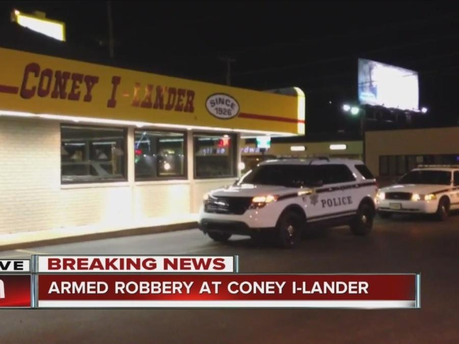 Police investigate armed robbery at Coney I-lander