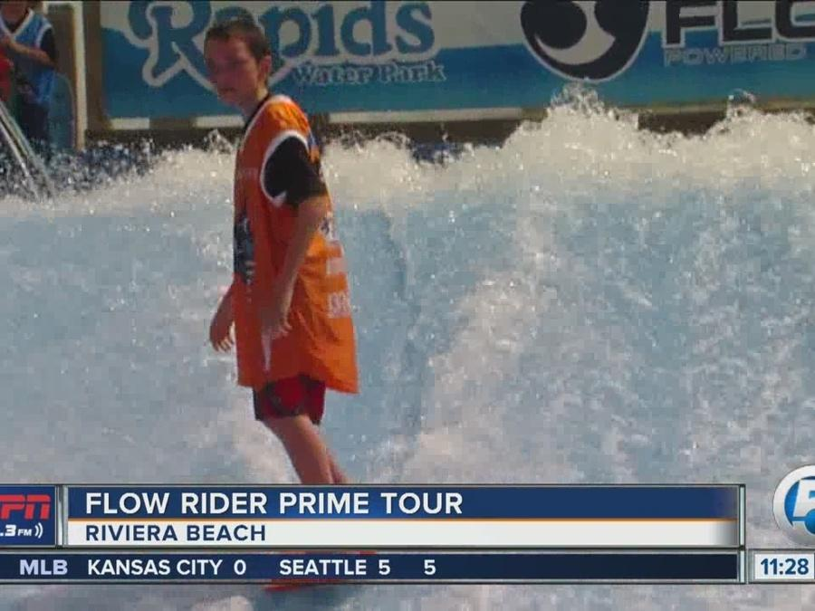 Flow Rider Prime Tour Hits Riviera Beach