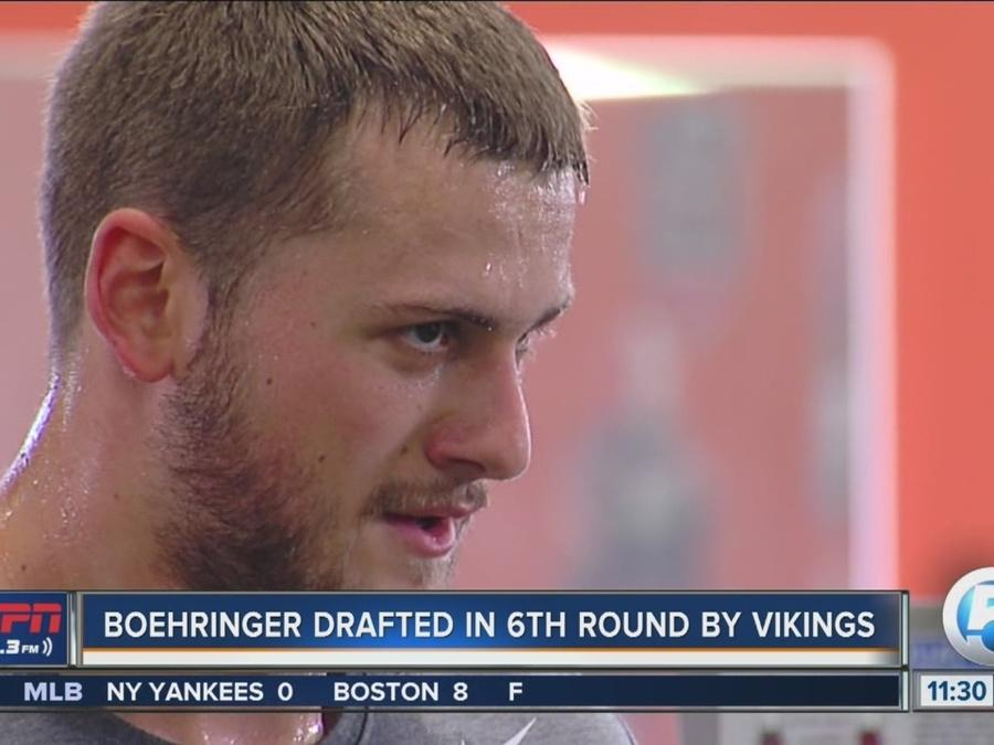 German WR Moritz Boehringer Drafted by Minnesota Vikings