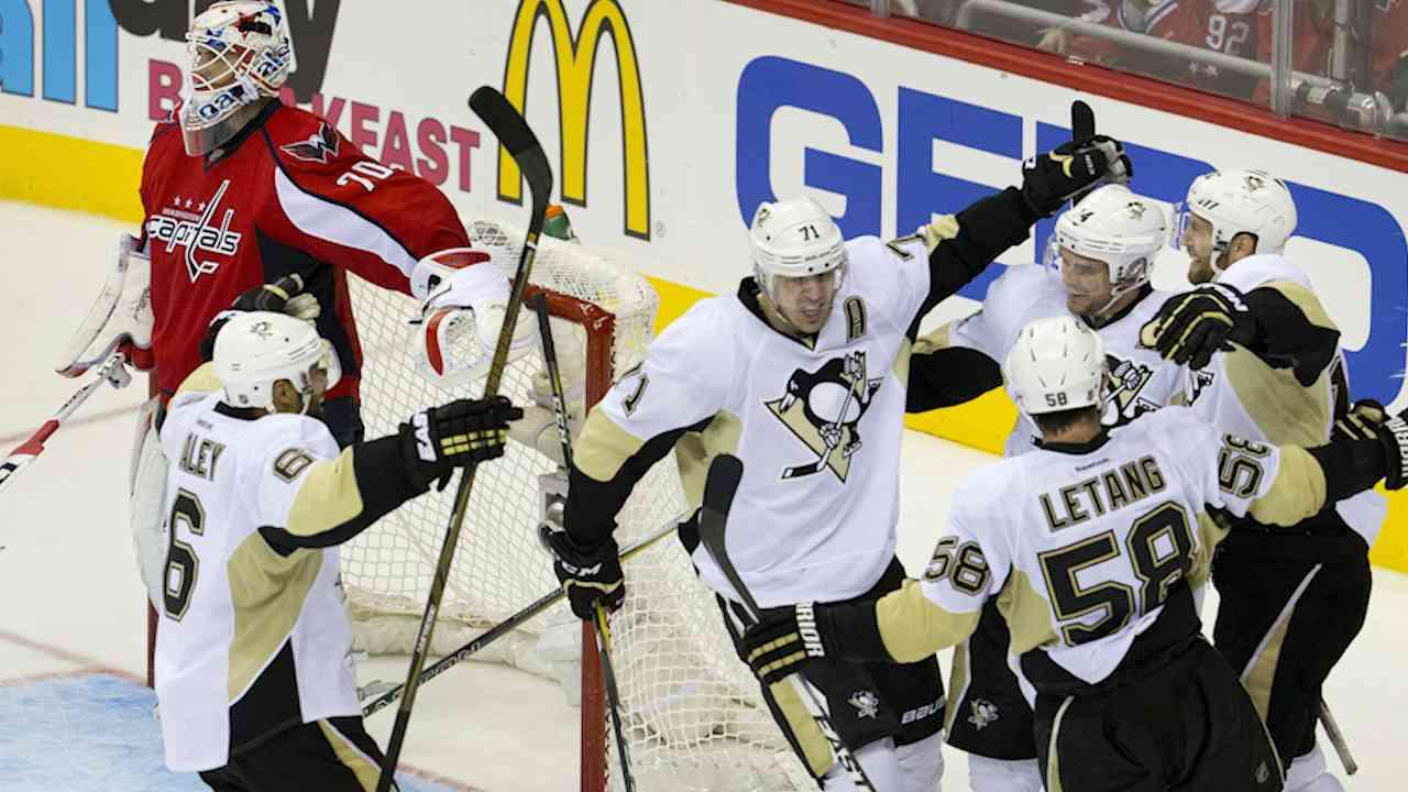 Penguins Win Game 2, Even Series