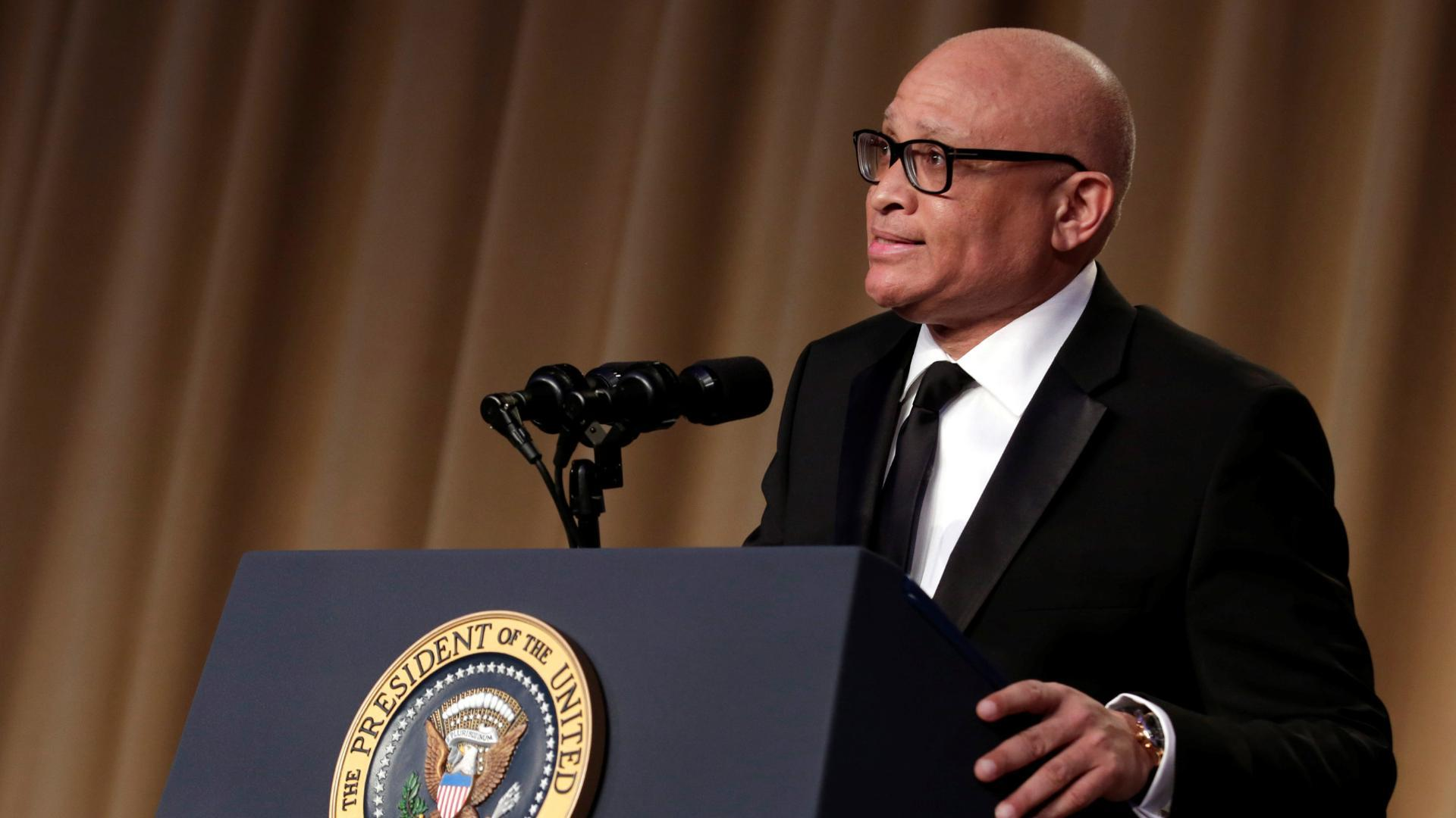 Larry Wilmore's correspondents' dinner speech, in 2 minutes
