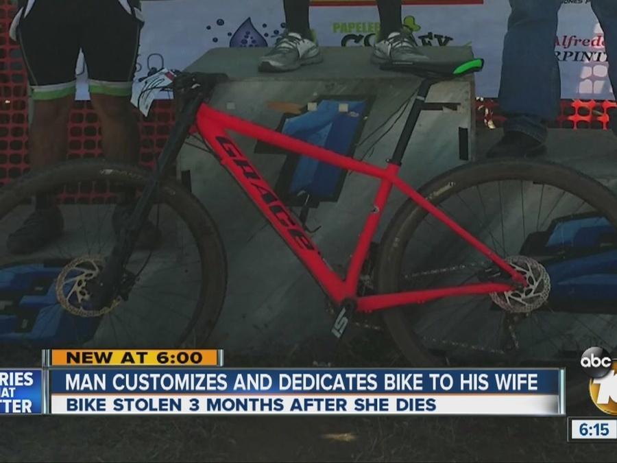 Stolen Pink Bike