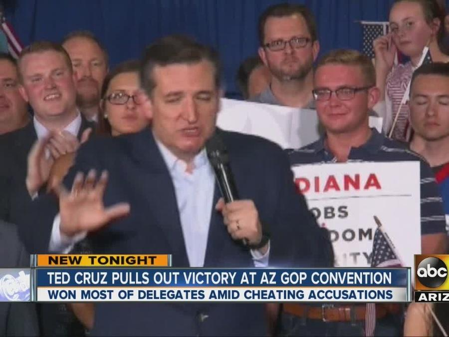 Trump supporters cry foul after AZ GOP convention