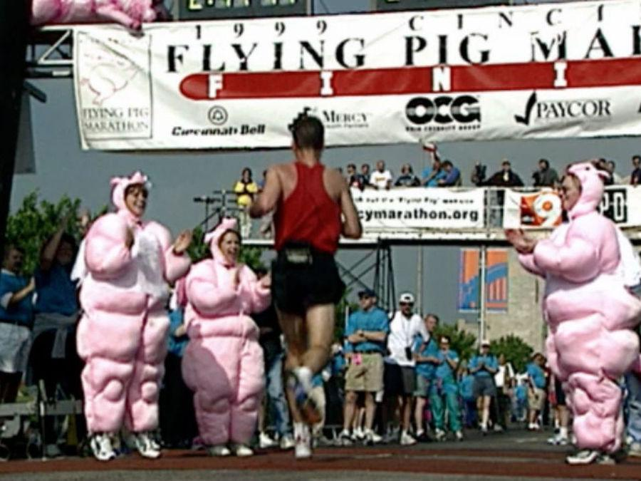 First Flying Pig Marathon in 1999