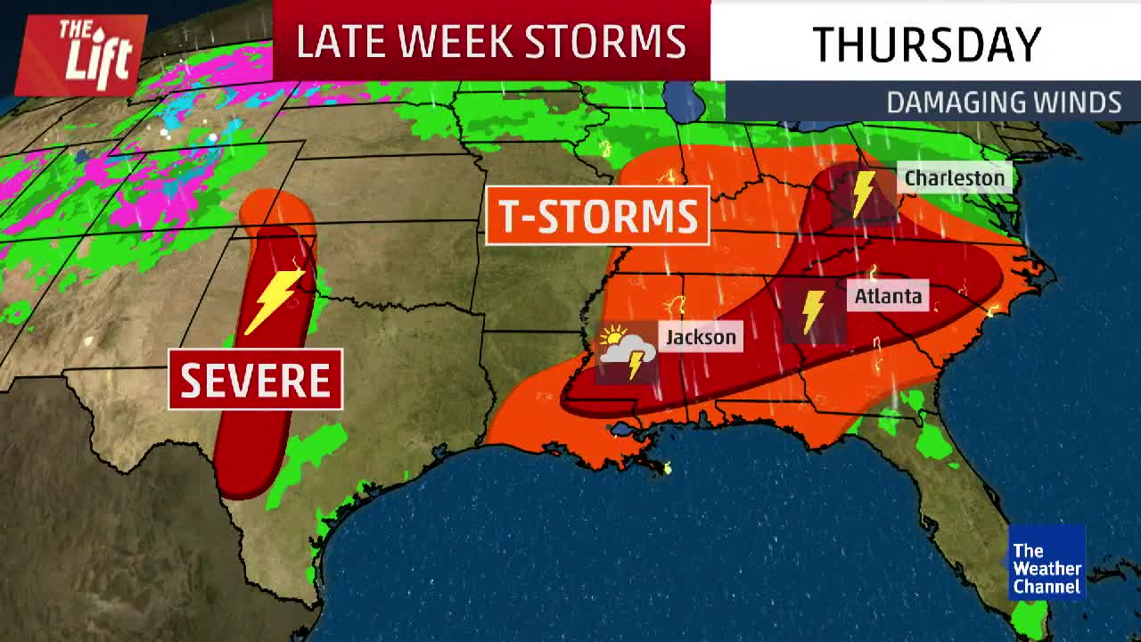 Severe Threat Continues into Late Week