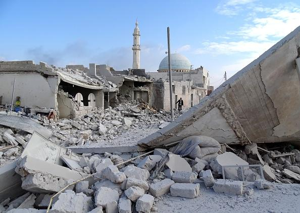 US demands halt to Syrian regime's Aleppo bombing
