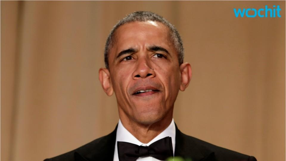 Obama out: POTUS performs his final Correspondents' Dinner set