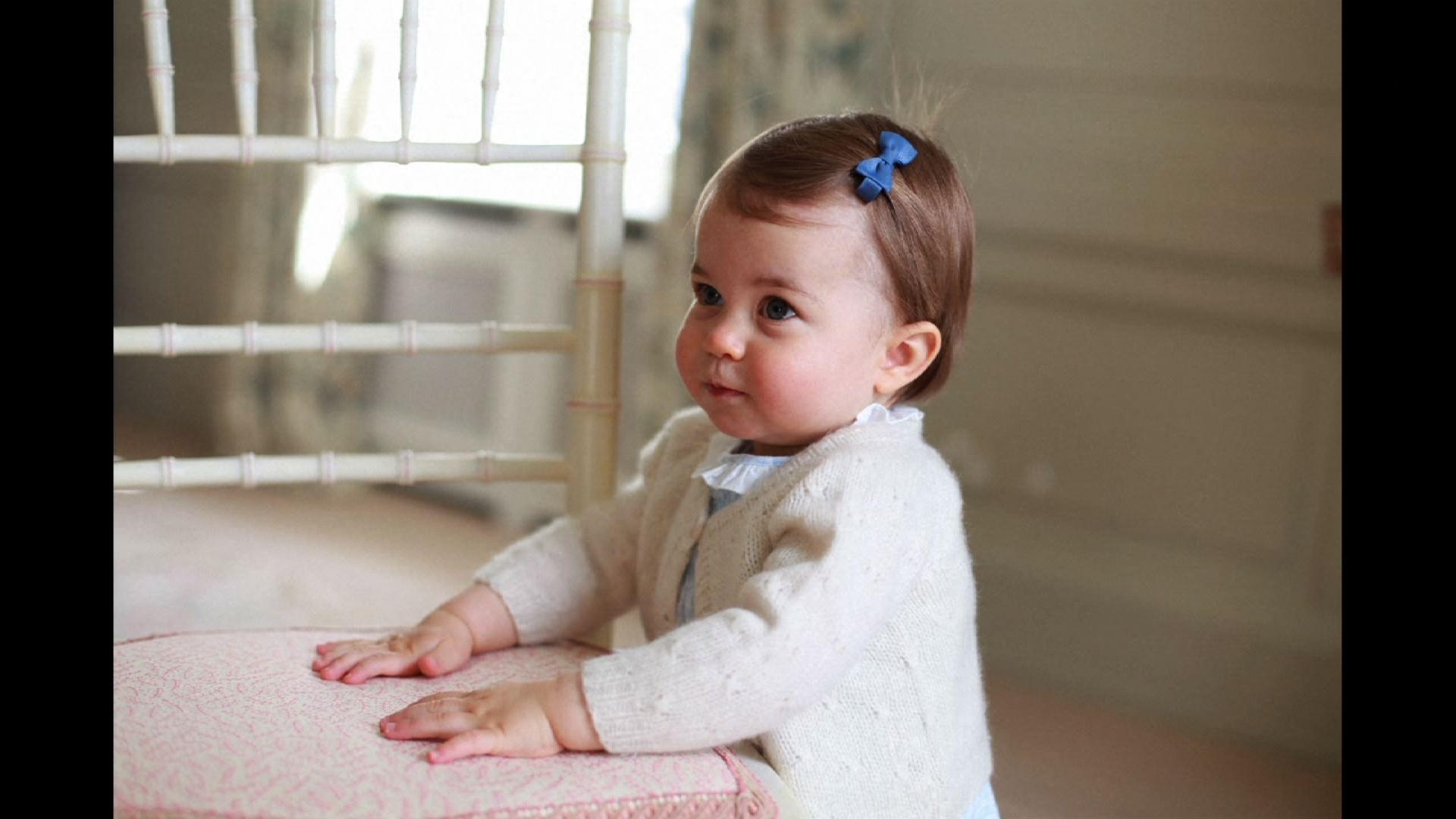 Raw: Photos of Princess Charlotte