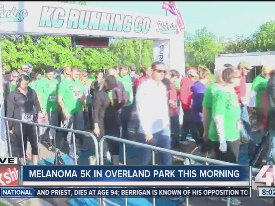 Melanoma 5K kicks off in Overland Park Sunday morning