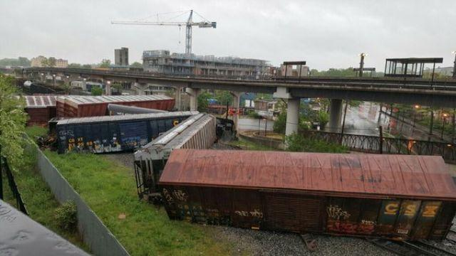 Train Derailment in Washington, DC, Prompts Hazmat Response