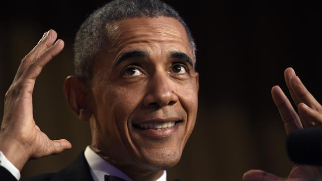 White House Correspondents' Dinner: President Obama Takes Jabs at Clinton, Cruz