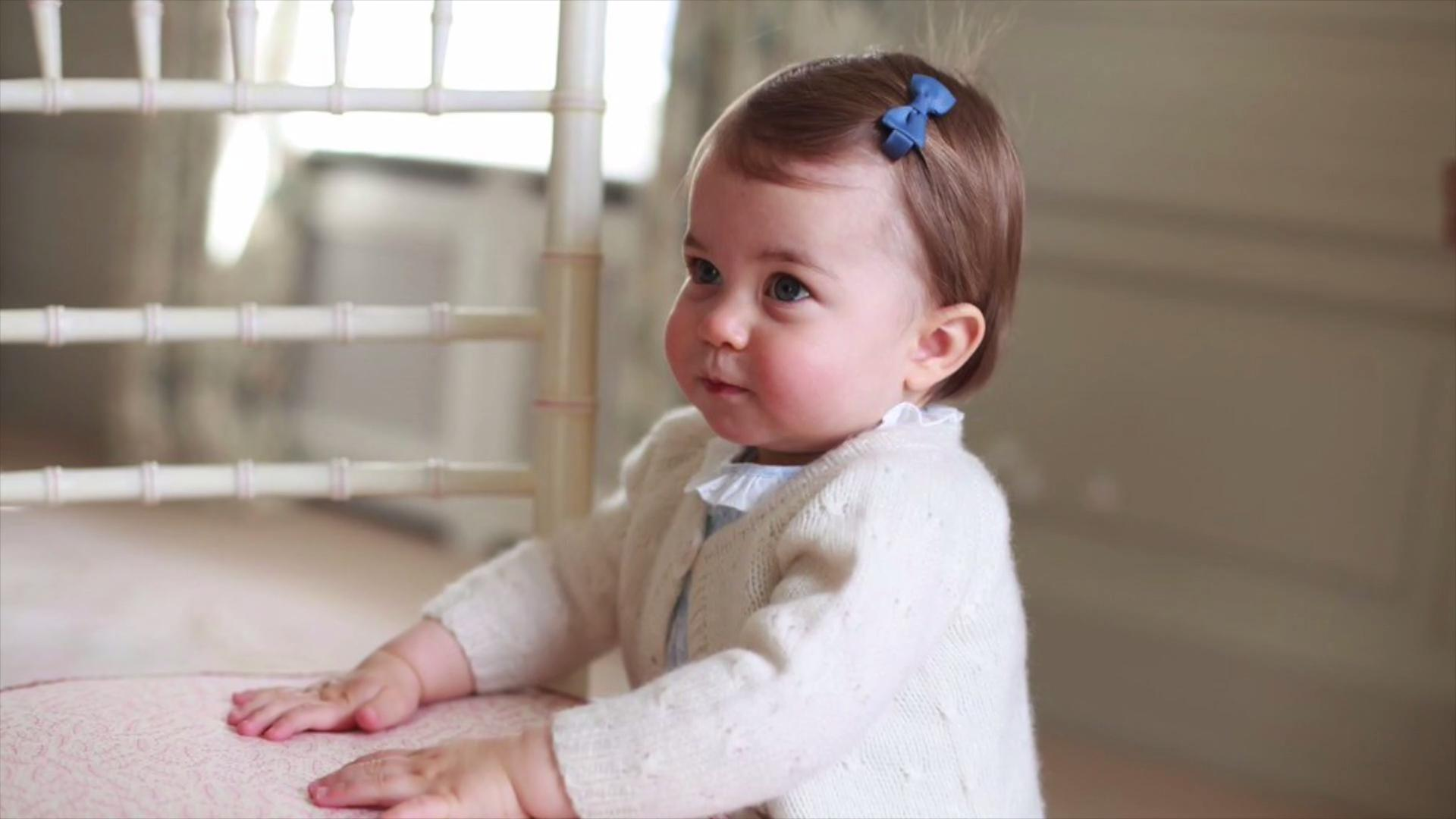 Royals Release New Photos For Princess Charlotte First Birthday