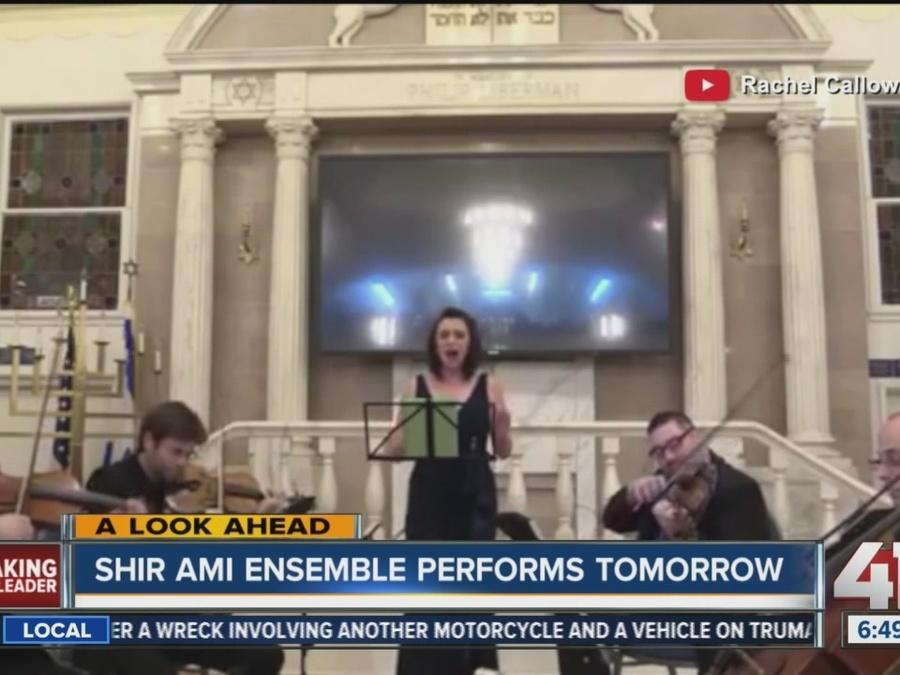Shir Ami ensemble performs Monday