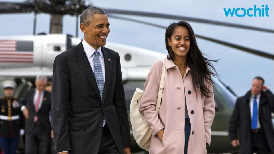 Malia Obama Follows in Dad's Footsteps...Going to Harvard!