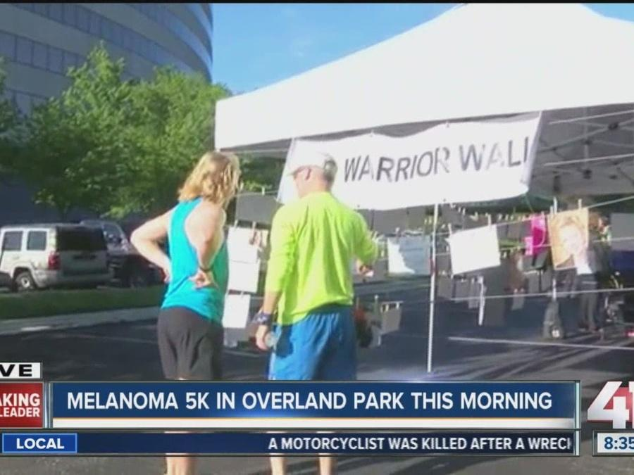 Melanoma 5K kicked off in Overland Park Sunday morning