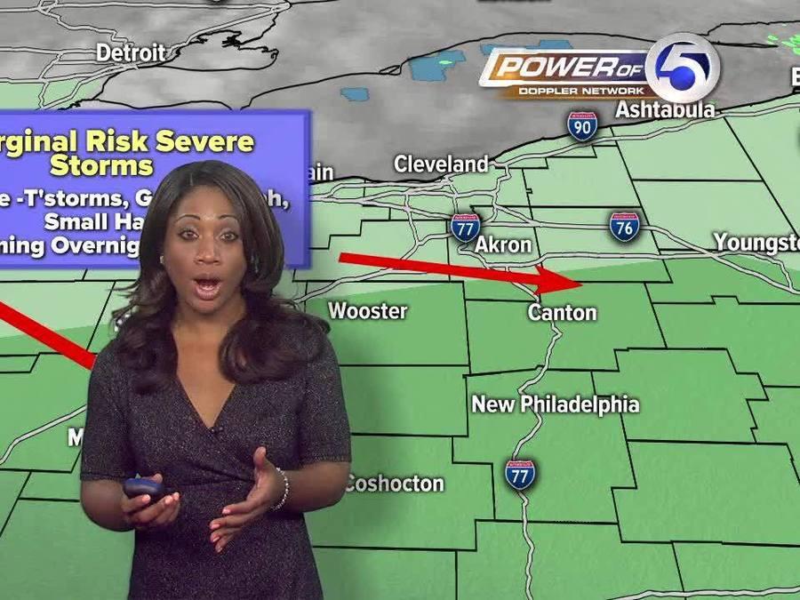 Cleveland morning weather