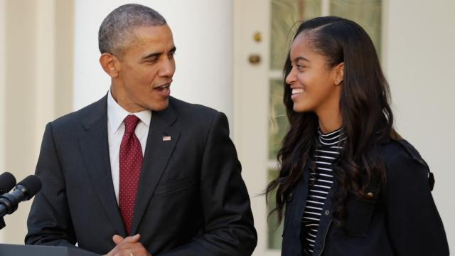 Malia Obama Is Heading to Harvard, but First She's Taking a Year Off