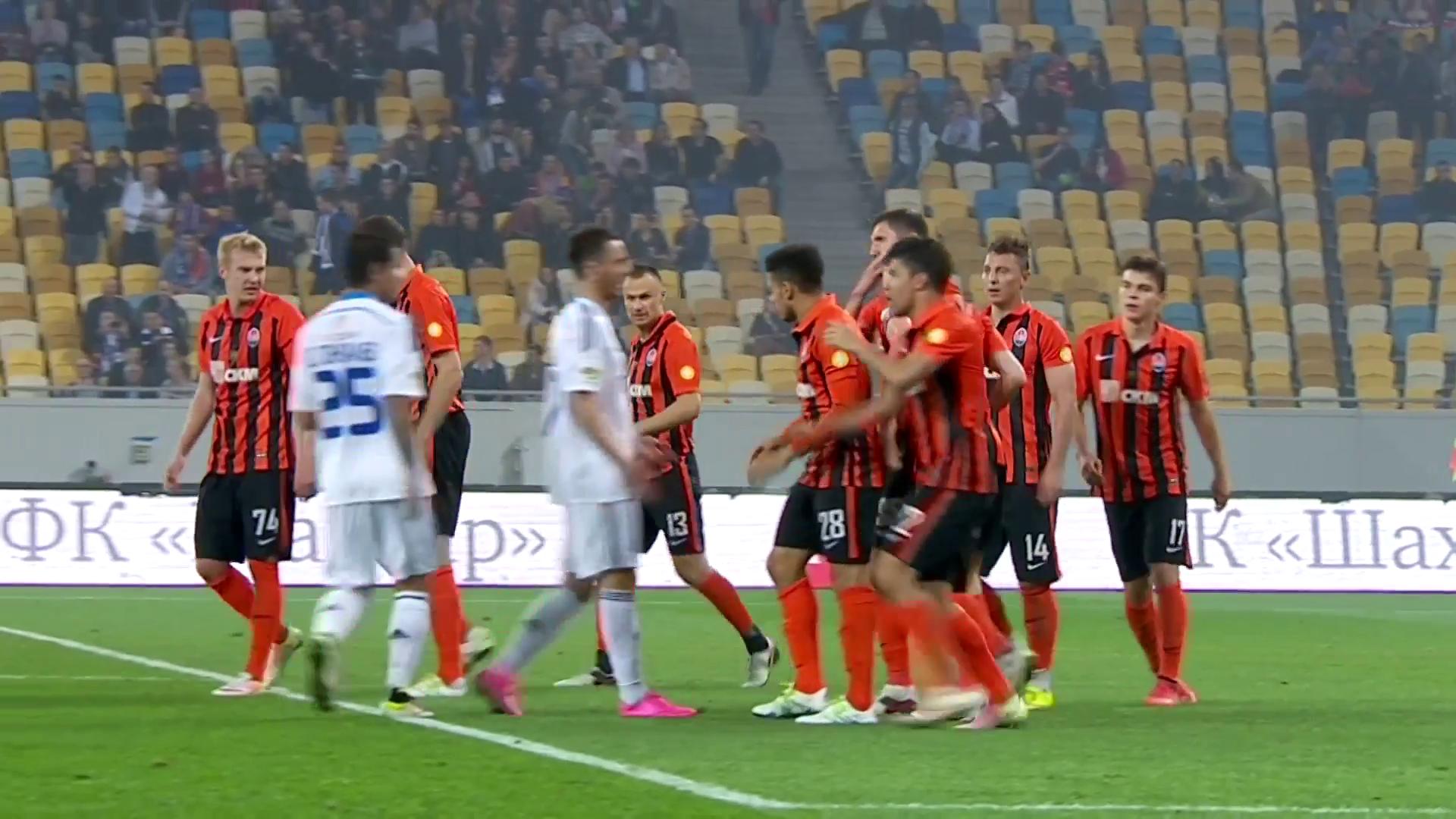 Mass Brawl Between Shakhtar and Dynamo