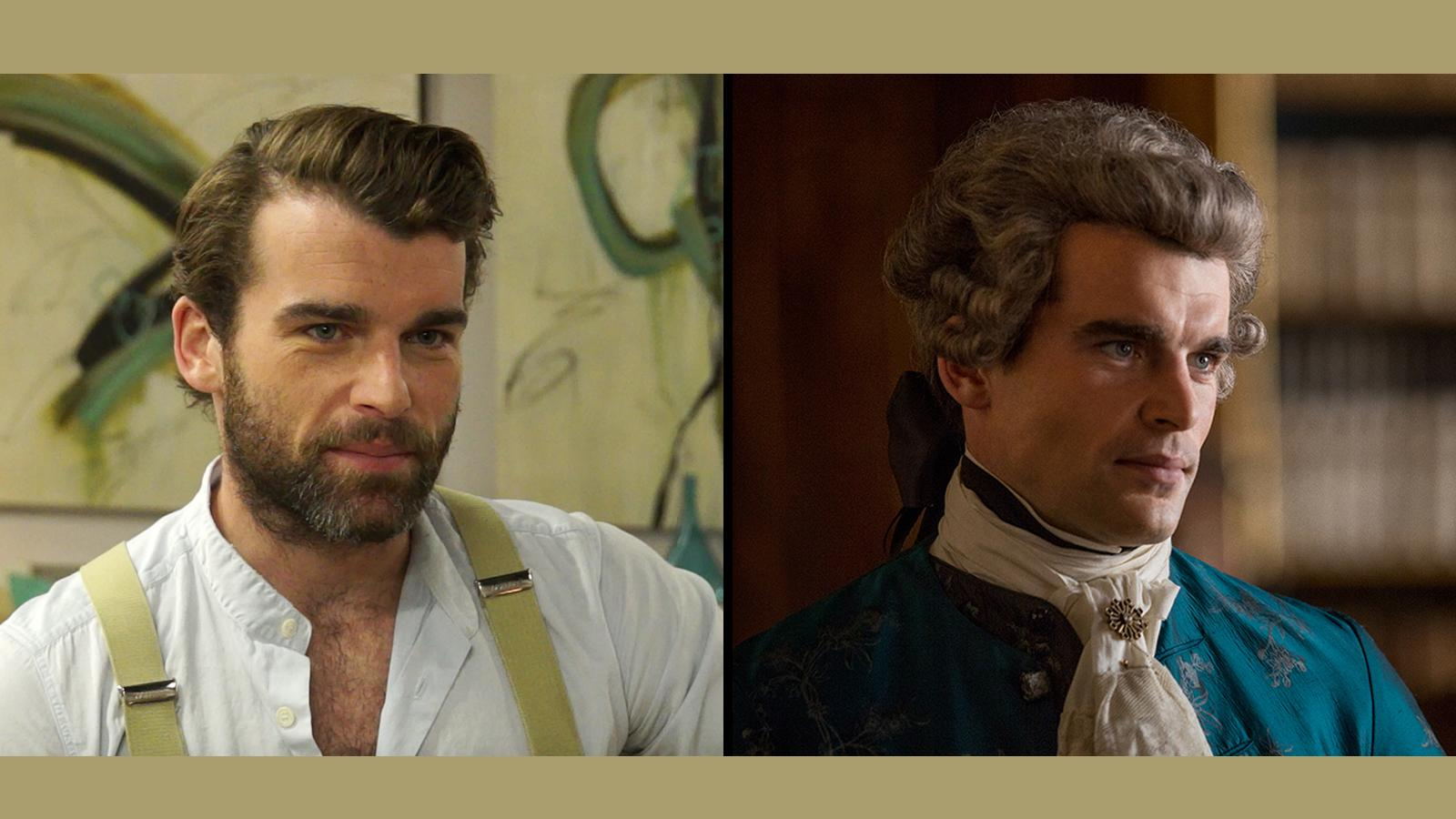 Stanley Weber On Filming The 'Outlander' Dinner Party Scene In S2, Ep. 4