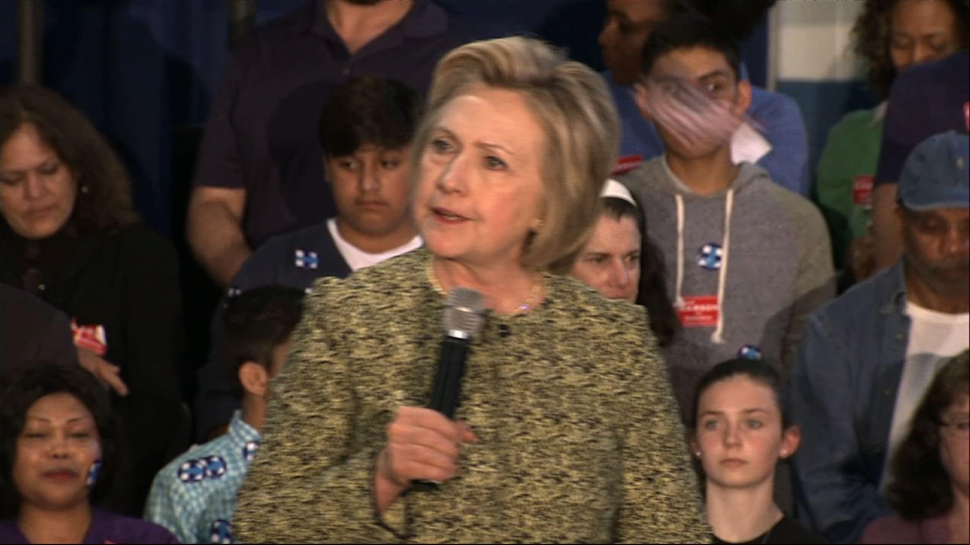 Clinton Slams Indiana Abortion Laws, Hate Speech