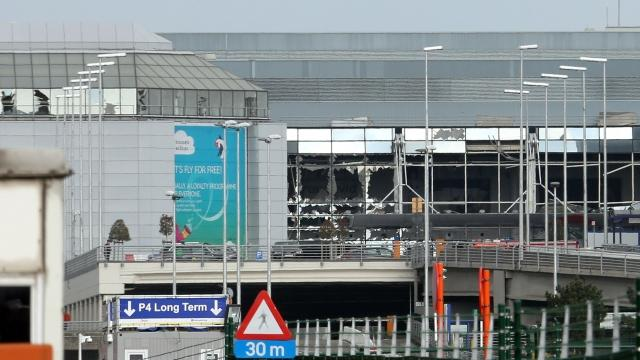 Brussels Airport Reopens Departure Lounge 6 Weeks After Attacks