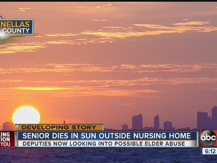 Nursing home resident dies, police investigates
