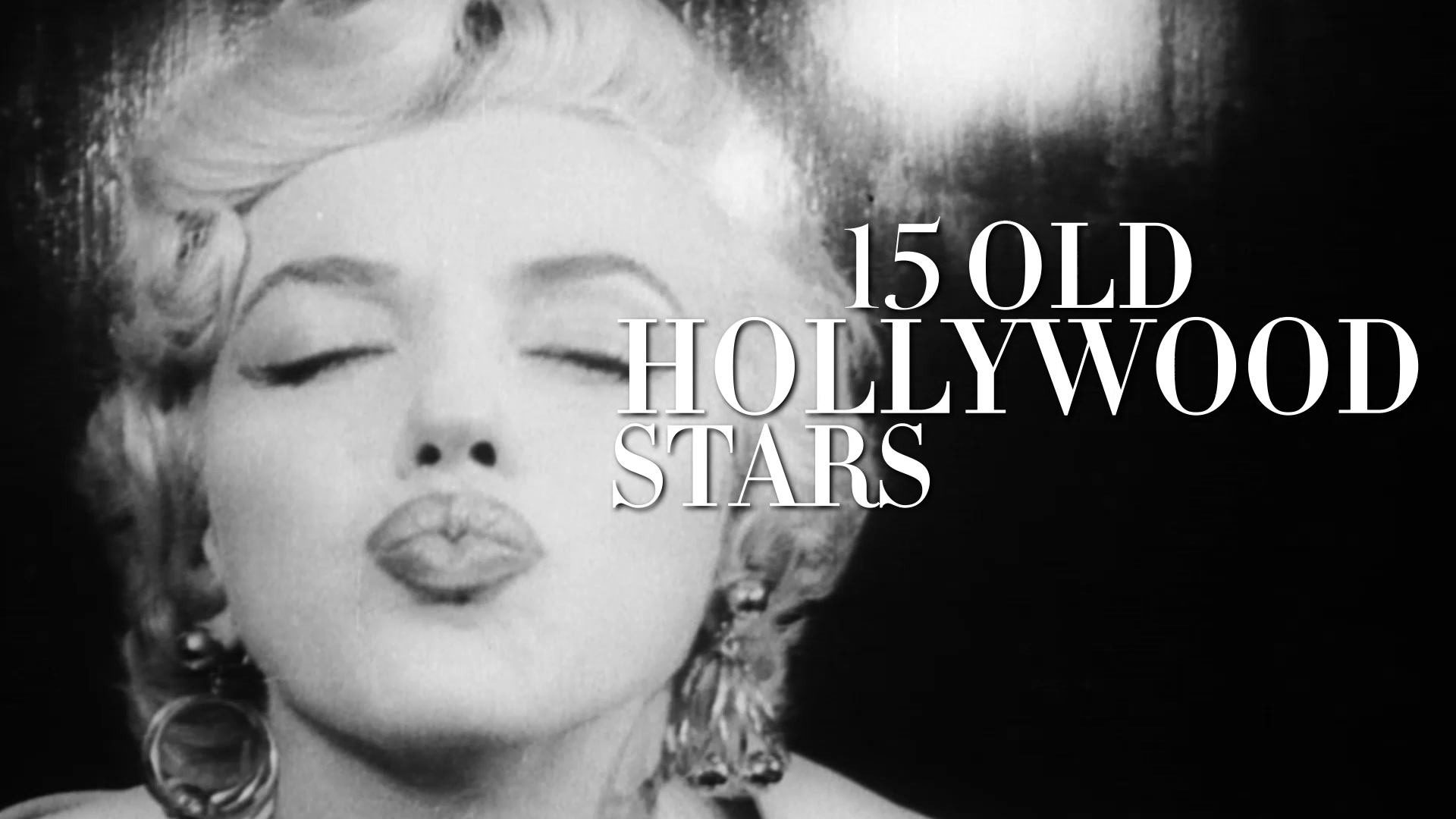 15 Old Hollywood Stars at Home
