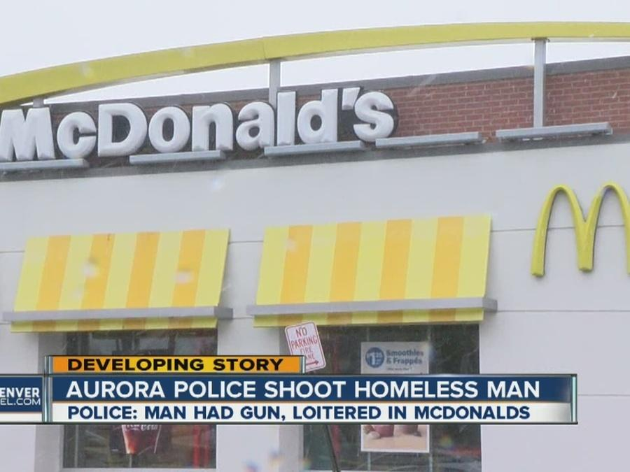 Aurora Police shoot homeless man