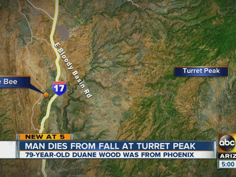 Phoenix man dies in Yavapai County hiking fall