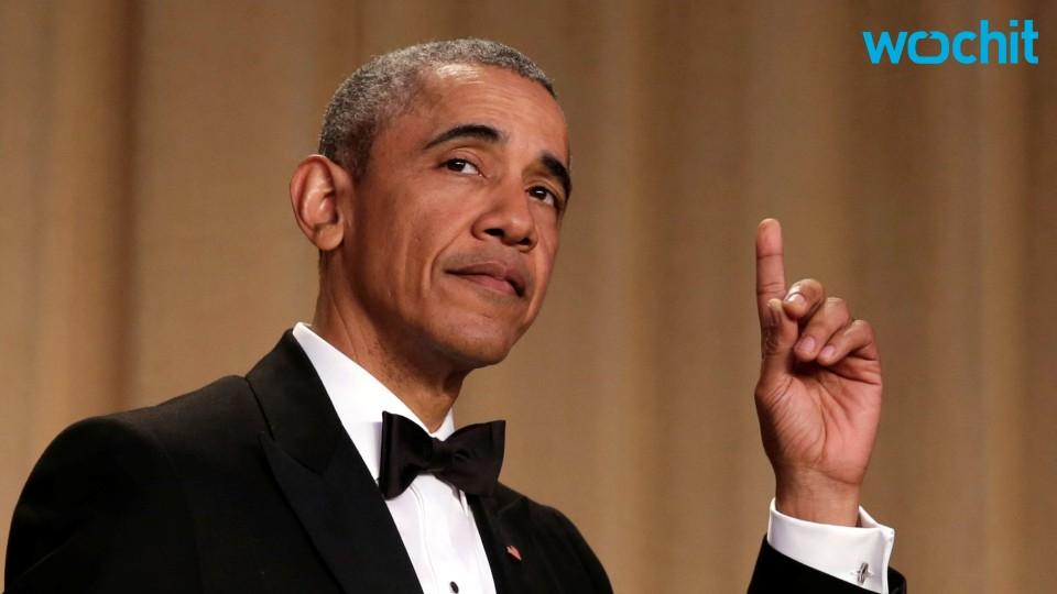Obama Rips Trump at Final Correspondents Dinner