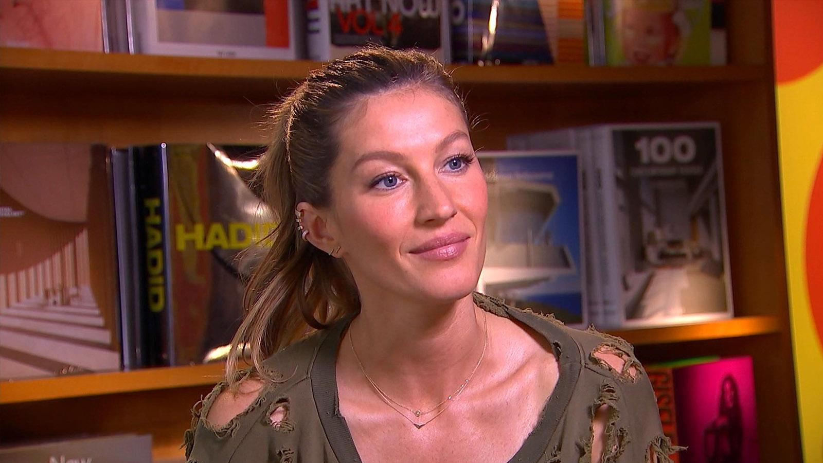 Gisele Bundchen On Her Early Career & First Big Break (Exclusive)
