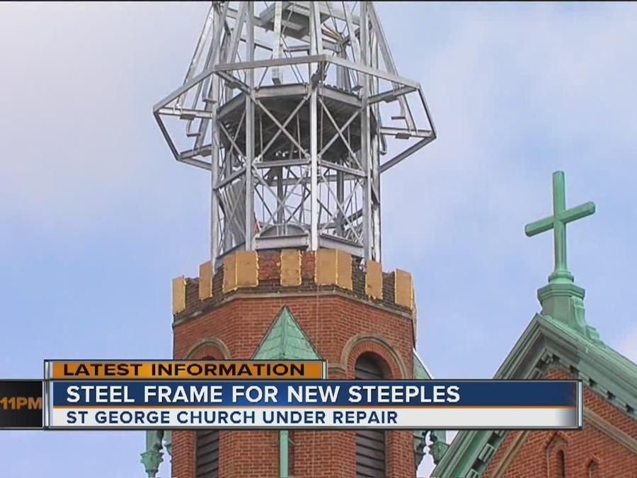 New steeples coming soon to Crossroads at Old St. George Church