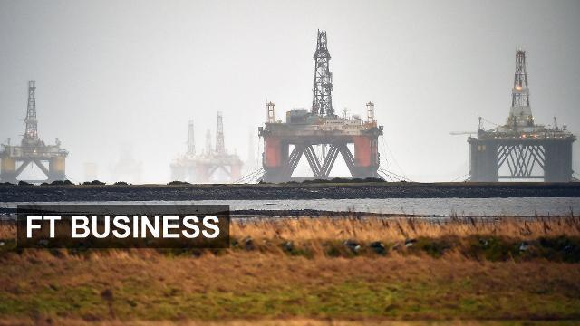North Sea hit by fall in oil price