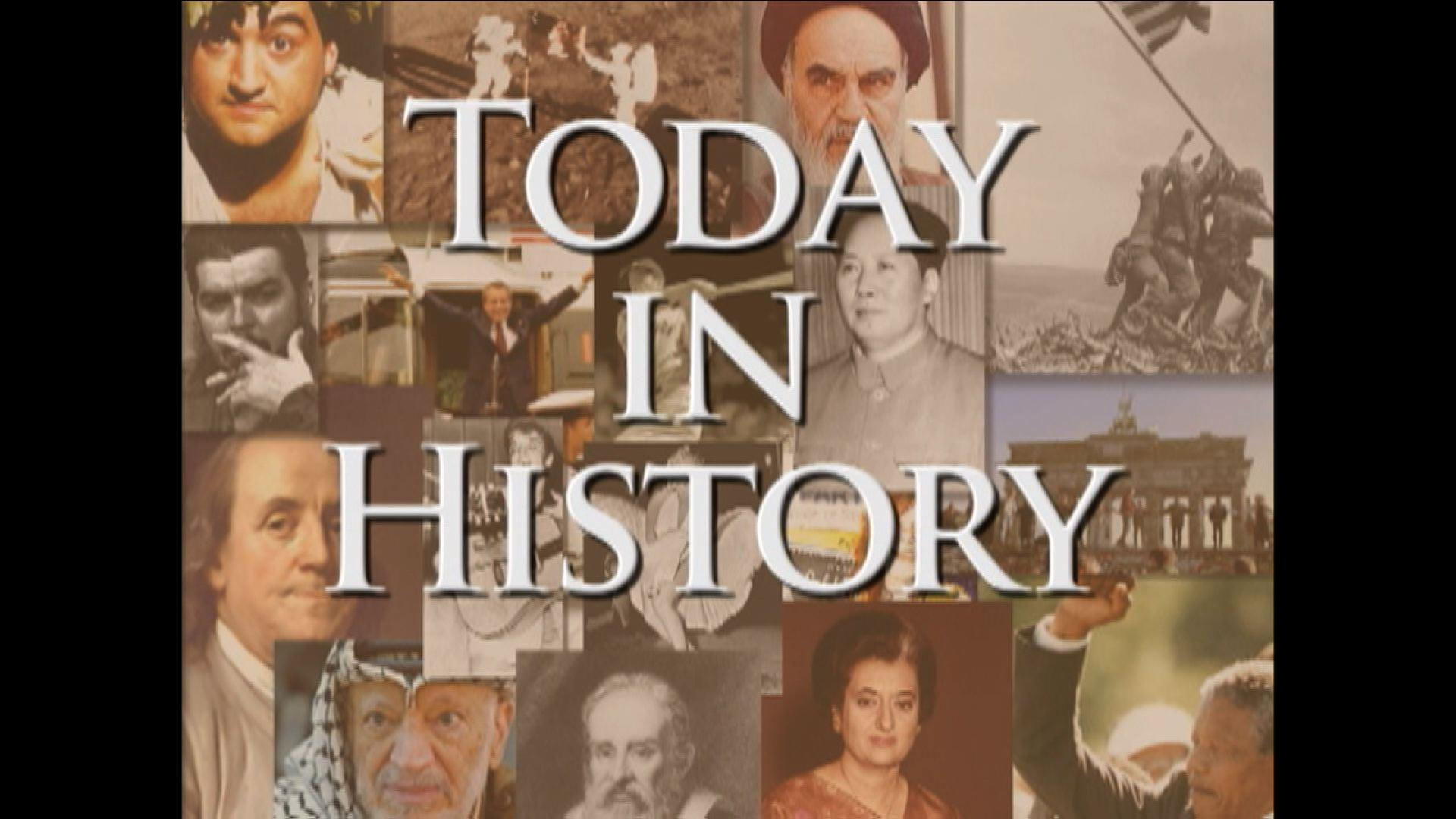 Today in History for May 2nd