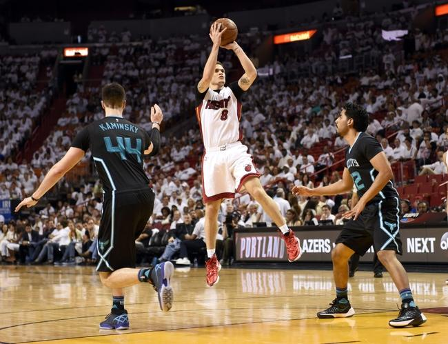Dragic stars as Heat pound Hornets to win series