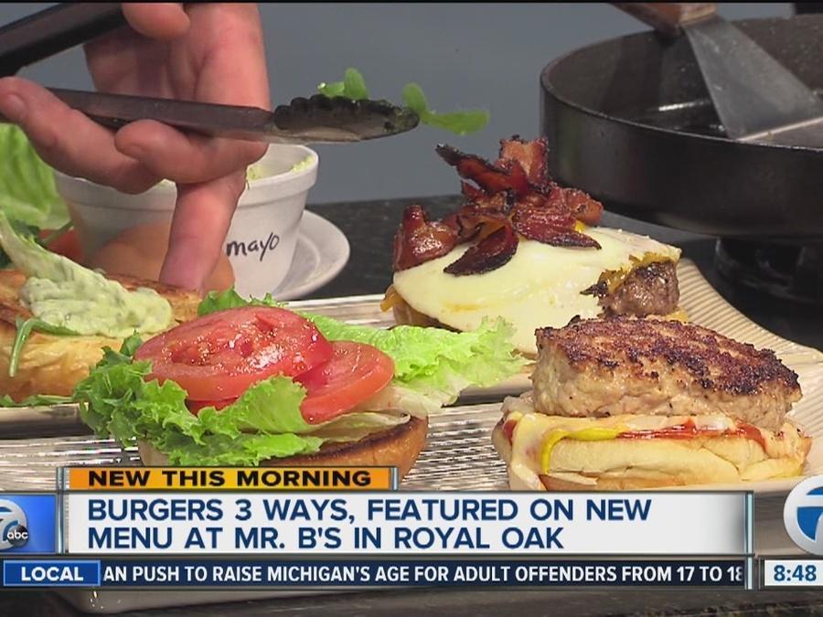 New menu items at Mr. B's Pub in Royal Oak